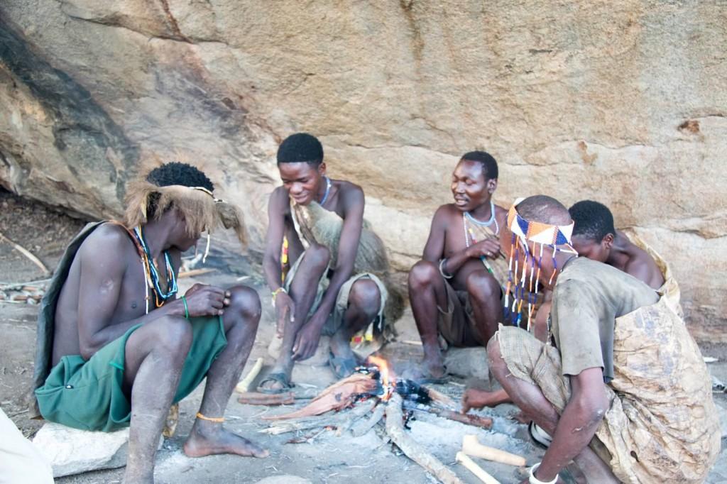 Hadzabe Bushmen - Tania with Safari Infinity